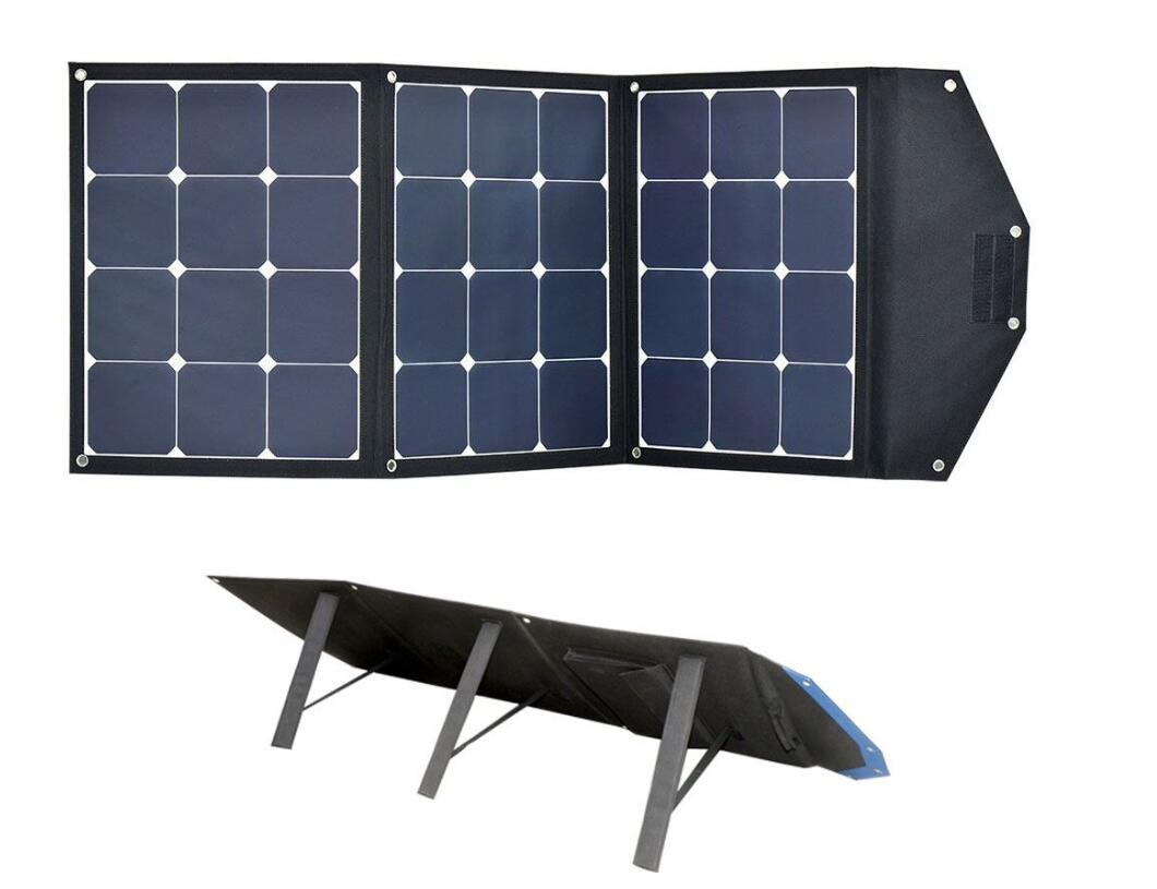 100W folding solar charger