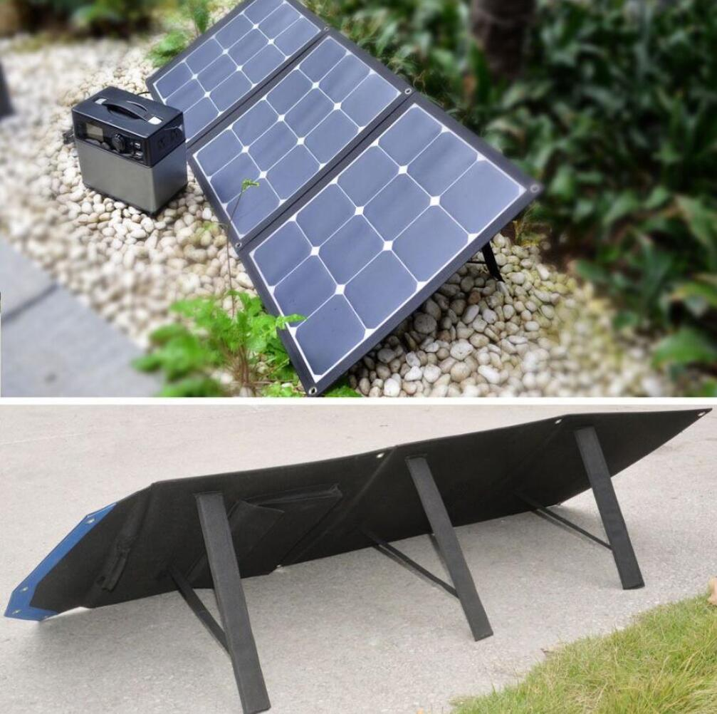 100w portable sunpower solar panel charger